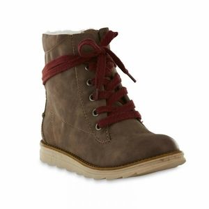 SM New York brown boots
